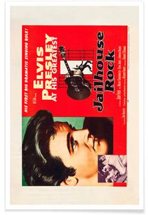 Jailhouse Rock' Retro Movie Poster