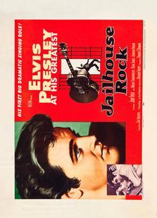 Jailhouse Rock' Retro Movie Poster