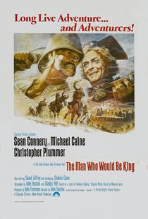 'The Man Who Would Be King' Retro Movie Poster