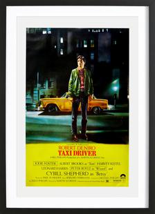 'Taxi Driver' Retro Movie Poster