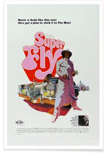 'Super Fly' Retro Movie Poster