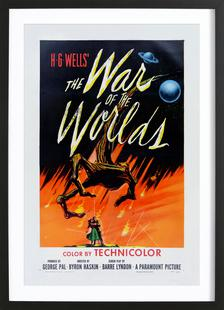 'The War of the Worlds' Retro Movie Poster