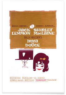 'Irma La Douce' Retro Movie Poster