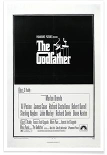 'The Godfather' Retro Movie Posters