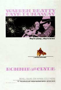 'Bonnie and Clyde' Retro Movie Poster