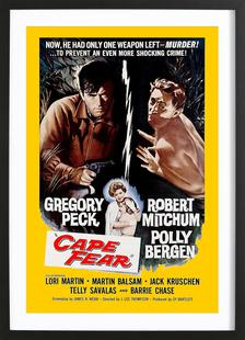 'Cape Fear' Retro Movie Poster