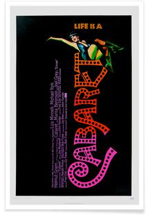 'Cabaret' Retro Movie Poster