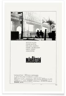 'Manhattan' Retro Movie Poster