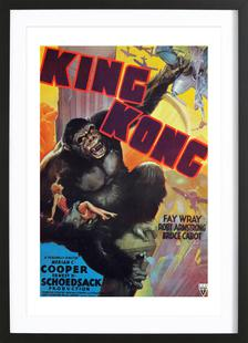 'King Kong' Movie Poster
