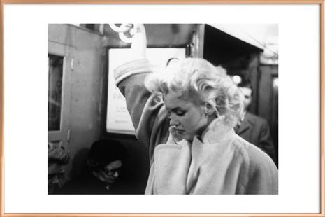 Marilyn Monroe, on subway 1995 New York