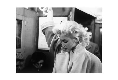 Marilyn Monroe, on subway 1995 New York