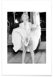 Marilyn Monroe, 1954 Seven Year Itch