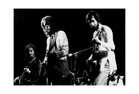 Eric Clapton and Pete Townsend