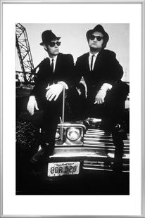 Dan Akroyd and John Belushi in Blues Brothes, 1980
