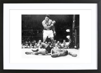 Muhammad Ali rematch with Sonny Liston, 1965
