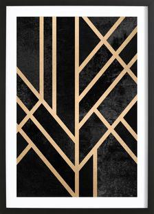Art Deco Black