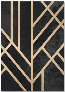 Art Deco Black