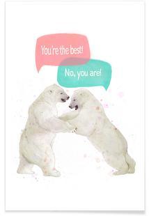Playful Bears