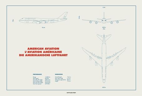 Technical Drawing 747