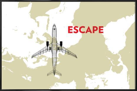 Escape Air Travel Map