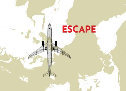 Escape Air Travel Map