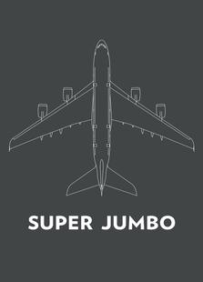 Super Jumbo Airbus A380