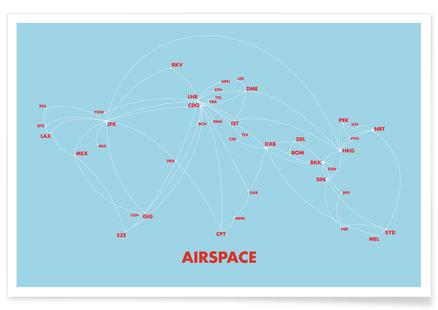 Airspace Map Blue