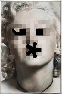 Retro Pop Emoticons Marilyn