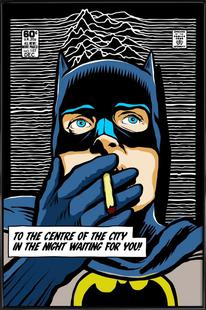 Post-Punk Comix- Bat Curtis