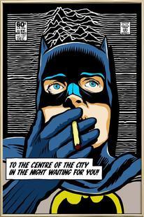 Post-Punk Comix- Bat Curtis