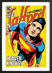 Post-Punk Comix- Super Moz - Heaven Knows