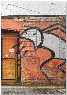 Streetart Orange