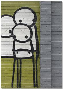 Streetart Grün 3