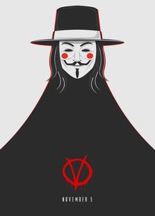 V for Vendetta Minimal November 5
