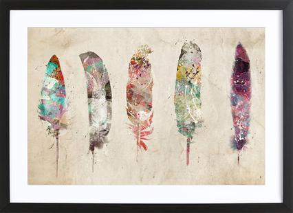 Pop Art Feathers
