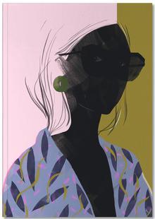 Girl in a Blue Kimono