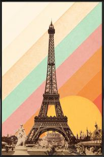 Eiffel Tower Rainbow
