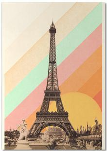 Eiffel Tower Rainbow