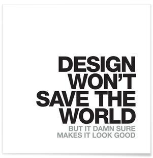 Design Won't Save