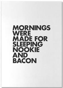 Sleeping Nookie Bacon