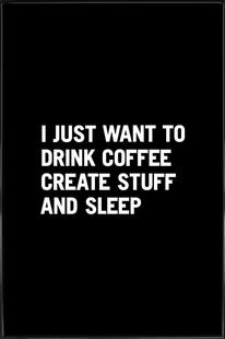 Coffee Create Sleep White