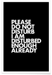 Do Not Disturb White