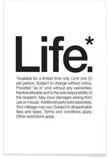 Life* (Black)
