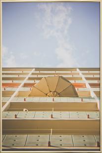 Umbrella Meets Sky