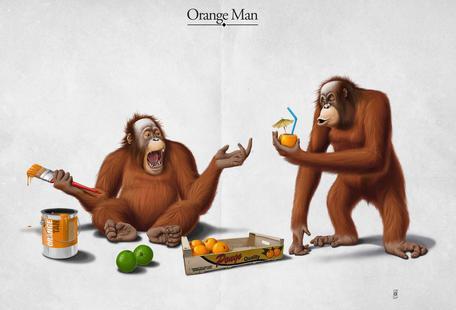 Orange Man (titled)
