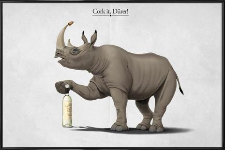 Cork it, Dürer! (titled)