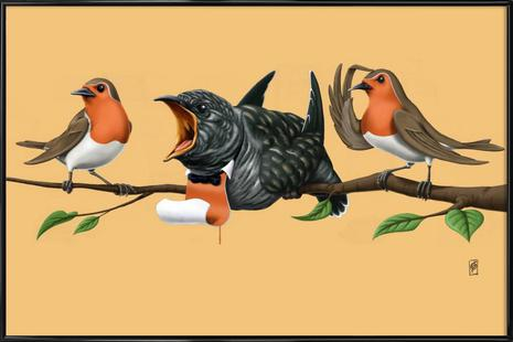 Cock Robin (colored)