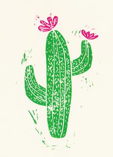 Cacti with Flower