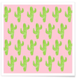 Cacti Minty Pink