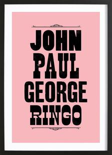 JOHN PAUL GEORGE & RINGO